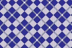 Modelo azul de la guinga Textura del Rhombus para - la tela escocesa, los manteles, las camisas, los vestidos, el papel, el lecho stock de ilustración