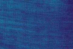 Modelo azul de la materia textil de la textura del dril de algodón de la mezclilla imagenes de archivo