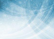 Modelo azul de la Navidad Imágenes de archivo libres de regalías
