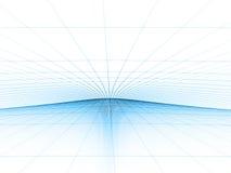 Modelo azul de la red Fotografía de archivo libre de regalías