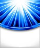 Modelo azul de la tarjeta del vector Stock de ilustración