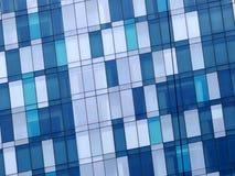 Modelo azul de las ventanas Foto de archivo libre de regalías