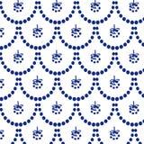 Modelo azul del Año Nuevo fotografía de archivo libre de regalías