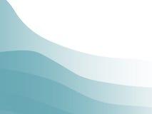 Modelo azul del estípite ilustración del vector