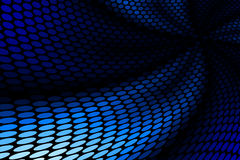 Modelo azul del punto Imagen de archivo libre de regalías