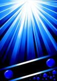 Modelo azul hermoso del diseño Libre Illustration