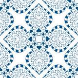Modelo azul inconsútil Fotos de archivo libres de regalías