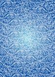Modelo azul inconsútil ilustración del vector