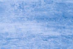 Modelo azul macio da cor Fundo azul abstrato com manchas da pintura Manchas na lona, contexto Ilustra??o Teste padrão da aquarela imagens de stock royalty free
