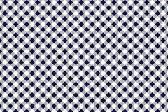 Modelo azul y blanco del mantel, textura del Rhombus/de los cuadrados para - la tela escocesa, manteles, ropa, camisas, vestidos, libre illustration
