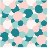 Modelo azul y rosado del círculo Foto de archivo
