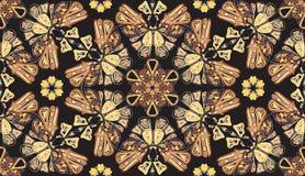 Modelo batterfly inconsútil del extracto Foto de archivo