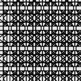 Modelo blanco negro ilustración del vector