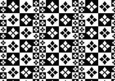 Modelo blanco negro Fotografía de archivo