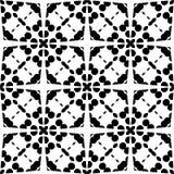 MODELO BLANCO NEGRO REPETED DESING del vector ilustración del vector