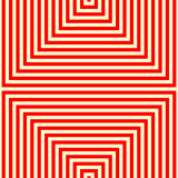 Modelo blanco rojo rayado Líneas rectas fondo geométrico de la repetición abstracta de la textura Imágenes de archivo libres de regalías