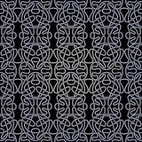 Modelo blanco y negro abstracto inconsútil Fotografía de archivo libre de regalías