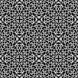 Modelo blanco y negro del cordón Fotos de archivo libres de regalías