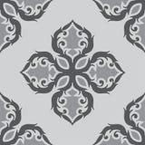 Modelo blanco y negro del ornamento Foto de archivo libre de regalías