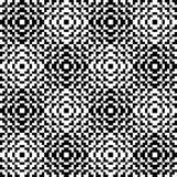 Modelo blanco y negro del pixel Fotografía de archivo libre de regalías