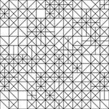 Modelo blanco y negro geométrico inconsútil Fotografía de archivo libre de regalías