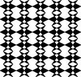 modelo blanco y negro geométrico de la almohada de la moda del inconformista Foto de archivo libre de regalías