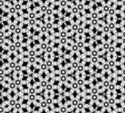 Modelo blanco y negro inconsútil abstracto Fotografía de archivo libre de regalías