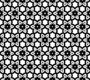 Modelo blanco y negro inconsútil abstracto Foto de archivo