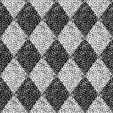 Modelo blanco y negro inconsútil Impresiones para las materias textiles Vintage g libre illustration