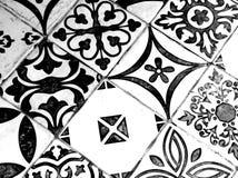 Modelo blanco y negro oriental foto de archivo