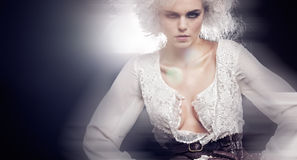 Modelo bonito Fotos de Stock Royalty Free