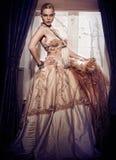 Modelo bonito Imagem de Stock Royalty Free