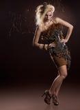 Modelo bonito Foto de Stock Royalty Free