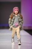 Modelo bonito não identificado da criança Imagem de Stock Royalty Free