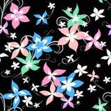 Modelo brillante de la flor stock de ilustración