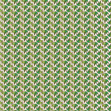 Modelo brillante inconsútil del vector con los elementos florales Dibujado por la ha Imagen de archivo