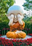 Modelo budista do principiante Imagem de Stock