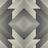 Modelo céltico inconsútil Fondo sagrado de la geometría del monocromo stock de ilustración