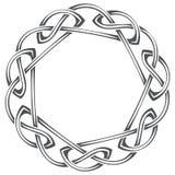Modelo céltico, nudo céltico ilustración del vector