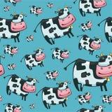 Modelo cómodo lindo de la vaca Imagen de archivo libre de regalías