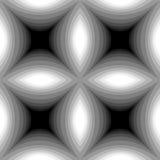Modelo cóncavo monocromático inconsútil de los rectángulos libre illustration
