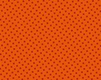 Modelo cóncavo rojo y anaranjado abstracto de los cuadrados stock de ilustración
