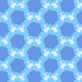 Modelo caído sombra azul background1 de la marca Fotos de archivo libres de regalías