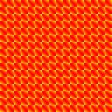Modelo caótico de Rhombus amarillos oscuros y de triángulos rojos en un zigzag libre illustration