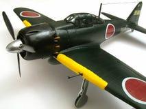 Modelo cero del avión de combate Fotos de archivo