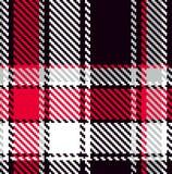 Modelo checkered inconsútil stock de ilustración