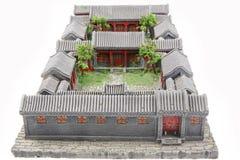Modelo chino del patio Imágenes de archivo libres de regalías