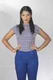 Modelo cingalês bonito Fotos de Stock