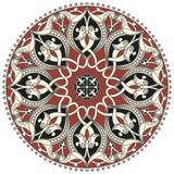 Modelo circular árabe Imagen de archivo libre de regalías