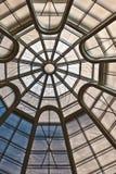Modelo circular del techo Imagenes de archivo